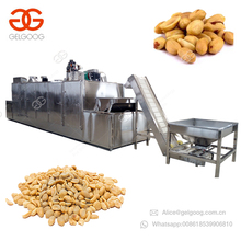 Commercial Belt Continuous Electric Automatic Sunflower Seeds Coffee Bean Nut Roaster Peanut Roasting Machine
