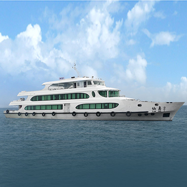 49.8m 300pax tourist sightseeing passenger boat(super bussiness yacht)