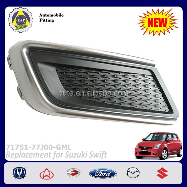 Car Accessories 71751-77J00-GML Standard RH Front Fog Lamp Bezel for Suzuki Swift 2013
