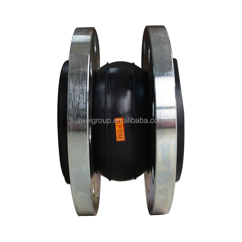 Carbon Steel Flange Connect Rubber Joint Flexible Dresser Pipe Coupling