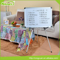 Cheap price custom adjustable height whiteboard on wheels