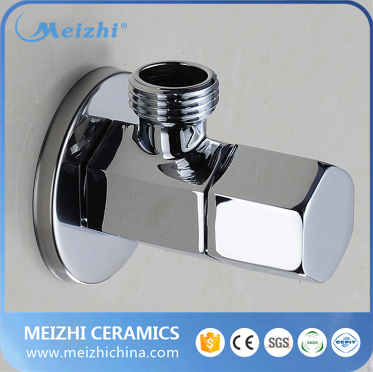 Good price chromed alloy handle brass angle <strong>valve</strong>