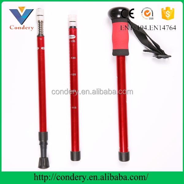 Alpenstock Elderly Walking Stick of Carbon Fiber