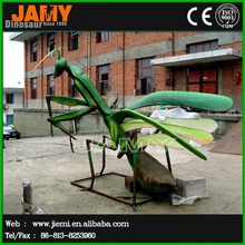Outdoor Playground Animatronic Insect Model of Mantis