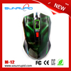 Wired 3D Gaming Mouse With 1600DPI Colorful Desktop Optical Mouse with 3Buttons Cheap Computers Mouse
