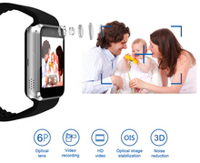 GPS WIFI Smart Watch GT08 Plus Android Wristwatch Phone With 3G SIM Card Slot 5MP Camera Bluetooth Speaker Mp3 Player Anti-lost