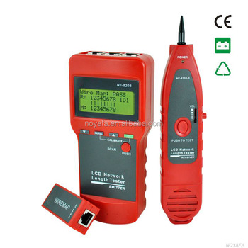 NF-8208 Portable Lan Cable Tester probe wire break point tracker & detector