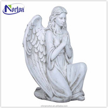 Modern winged female angel fiberglass statue NTFS-031Y