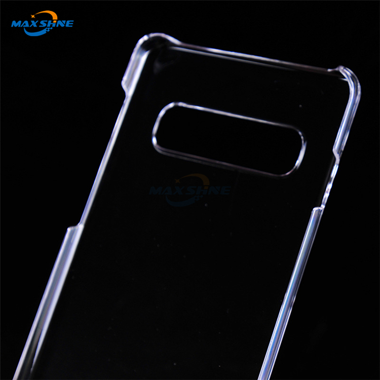 Maxshine Hard Pc Transparent Phone Case Cover For Samsung Galaxy S10E S10 Plus Case Mobile Phone