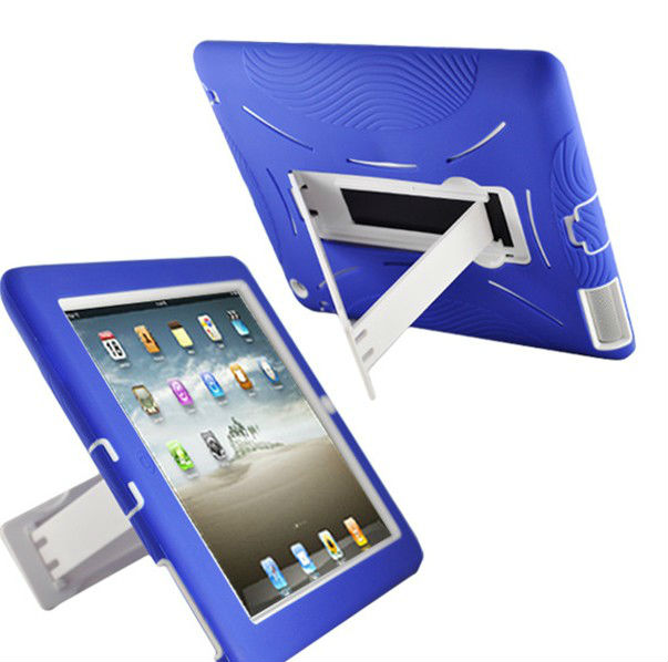 For ipad4 cover with support;for ipad mini shockproof case