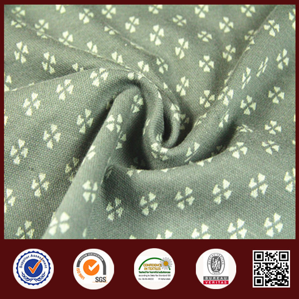 China manufacturer 100%cotton good hand feeling jacquard for garment