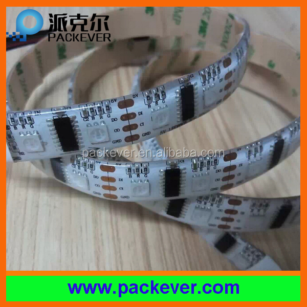 Epistar led chip RGB color 5VDC addressable programmable 60leds/m lpd8806 led tape