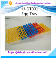 Factory Price plastic tray quail egg tray/plastic egg tray for chicken,quail,duck HJ-DT001