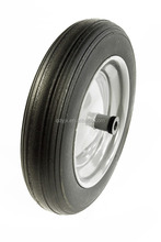 small solid rubber wheels for wheelbarrow 3.50-8