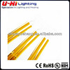 twin double tube golded coating IR lamp