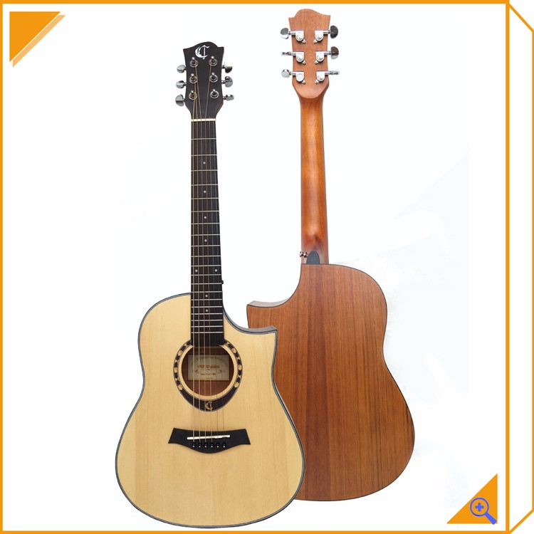 china cheap guitar 34 inch acoustic guitar travel guitar