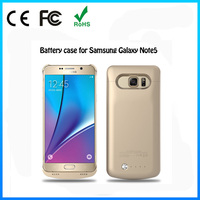 New design portable mini battery power case for samsung galaxy note 5