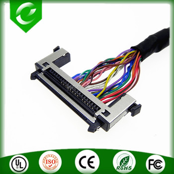 Both end RE41 cable wire assembly lvds cable for 3d printer controller