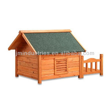 waterproof wood dog house