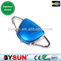 (Art.no:BS-009) shell shaped dual buckle keychain for sport