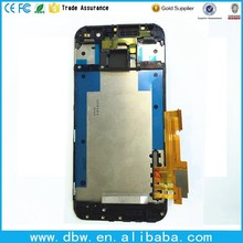 LCD display for htc one m9 LCD with touch screen frame