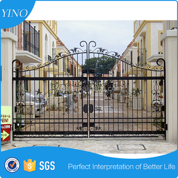 Nice and strong house gate iron gate designs IG-1-001