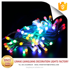 wholesale outdoor christmas street decoration colorful string light