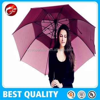 Auto open large golf umbrellas with a high quality