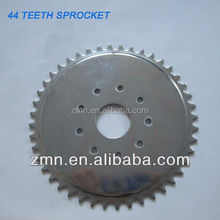 hot sale 36/39/41/44/48/56 teeth Black Silver Sprocket For Bicycle Engine Kit