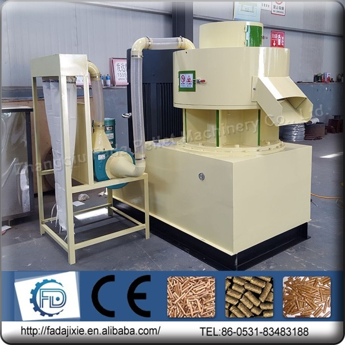 2016 full automatic Industrial factory price pellet mill for sale / machine to make wood pellets