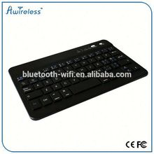 Bluetooth Ultra-Slim Aluminum Keyboard Cover with Stand for iPad (Black)
