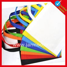 Custom beautiful decoration Eco reusable plastic bags with strong handle