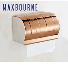 Hot sale bathroom tool Stainless Steel Toilet Paper Holders/wall mounted Paper towel holder/Hand tray