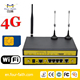M2M industrial 4g dual band sim router