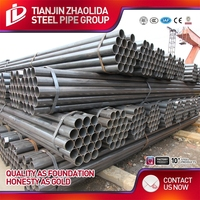 galvanized and black steel pipe api 5l erw line pipe price