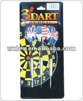 Dart Set, Includes 3 x 16g Zinc-plated Dart and PE Flights