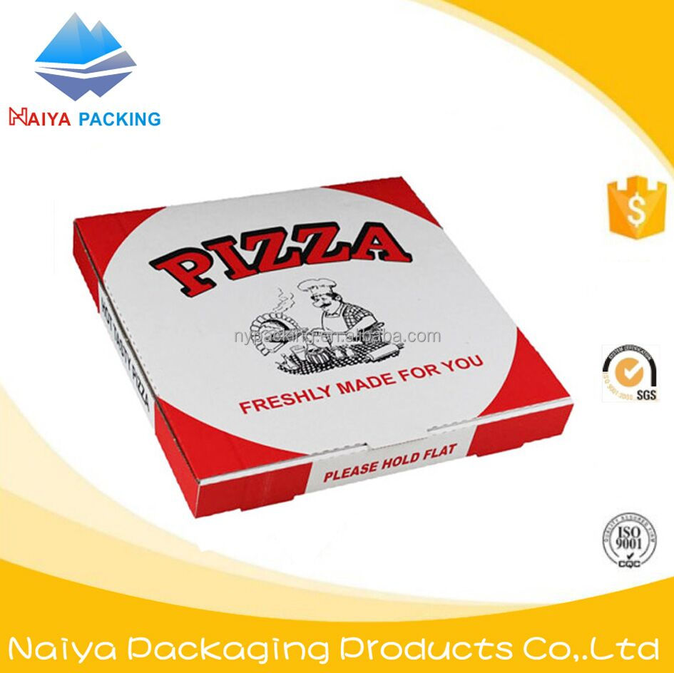 OEM customized customized paper packaging box cheap customized au crust printed pizza boxes