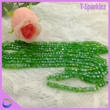 Guangzhou Factory Wholesale New Sqaure Shape Chinese Beads for rosary making