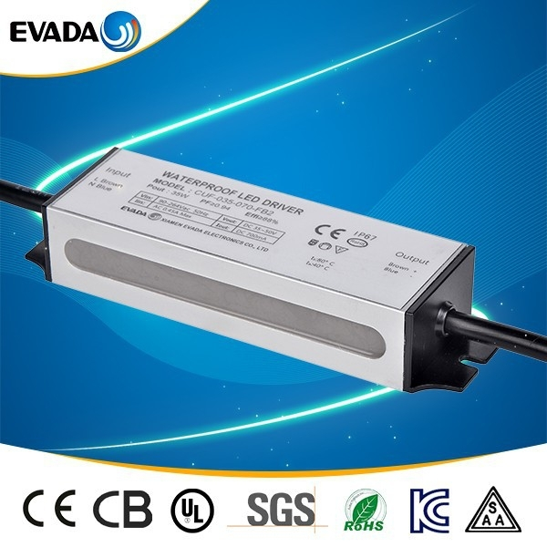 waterproof electronic led driver 30w adjustable power supply led