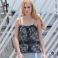 Crop Top Women Chiffon Blouse Camisole Sexy Fashion Simple And Comfortable New Arrival Top Quality