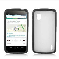 Crazy Selling Nexus 4 E960 case, Matte tpu Soft Case for LG Nexus 4 E960--Laudtec
