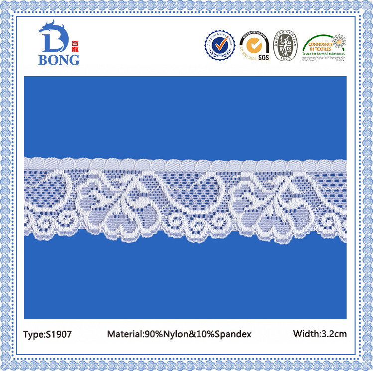 High quality elegant battenburg lace trim tape fabrics
