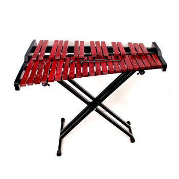 Professional musical instrument 37 notes marimba with wooden music stand
