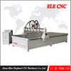 Outstanding 3d multi heads cnc woodworking machine price