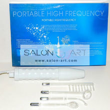Portable high frequency derma wands / facial galvanic current for acne JX-006A