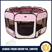462716 Folding Pet Tent Playpen Dog Fence Puppy Kennel 600D Oxford Folding Exercise Play