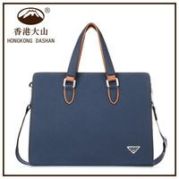 2013 manufactory supplier wholesale men bags classic leather branded man laptop straps bags briefcase messager men laptop