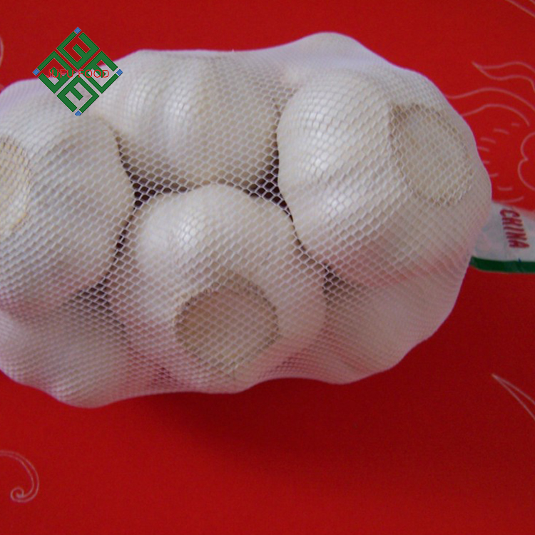Laiwu natural fresh pure white garlic with good quality