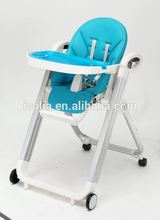 Ningbo IVOLIA Wholesale Plastic Outdoor Furniture Garden Baby Playing Dining Table High Chair
