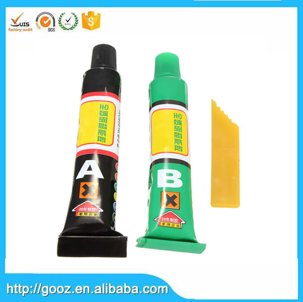 Long Durable two component 2 part plastic epoxy adhesive